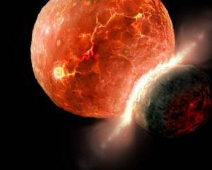 Earth's core formation